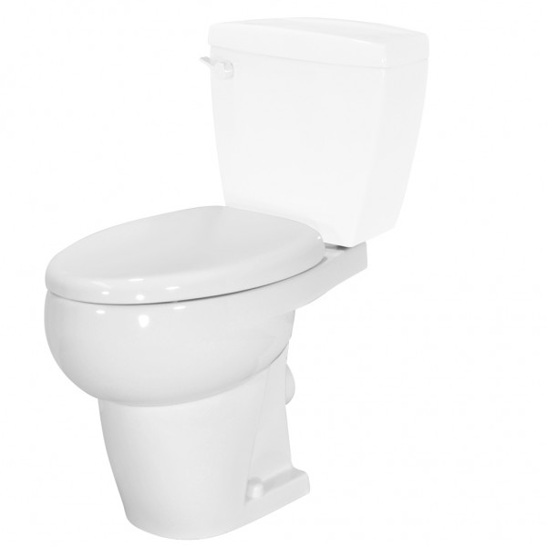 Toilet Bowl - White