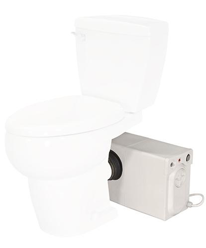 Bathroom Anywhere Macerator - White